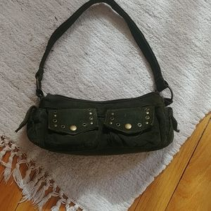 Handbags - Forest green cordury minibag